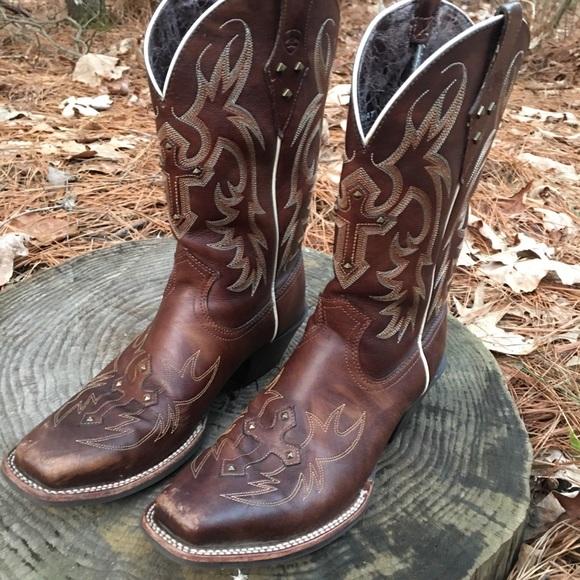 4e3955e44c2 Ariat Legend Spirit Cowboy Riding Boot Western 9